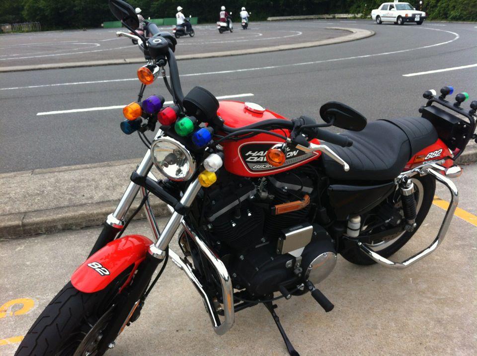 教習バイク harley sports star 883