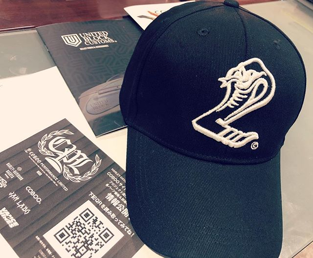Joints Custombike Show 2019にて!100個限定 COBOO CAP!¥ 3,000-COBOO Tシャツ(¥ 3,000-)とセットでご購入の場合はセットプライス ¥ 5,000- !!!無くなり次第終了です♫😎🧢#coboo #coboostudio #joints2019 #jointscustombikeshow #ハーレー #カスタムペイント