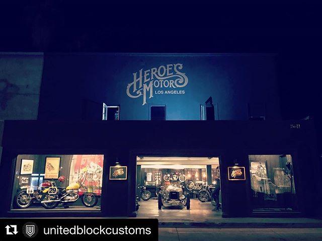 #Repost @unitedblockcustoms with @get_repost・・・@heroesmotors  UBC parts sales / showcase display at West Hollywood store and Malibu store.  The Malibu store is open this month.#unitedblockcustoms #westhollywood #malibu #california #losangeles #madeinjapan #harleydavidson #billetparts #ユナイテッドブロックカスタムズ #ウエストハリウッド #マリブ #カリフォルニア #ロサンゼルス #ハーレーダビッドソン #ハーレー #カスタムパーツ #ビレットパーツ