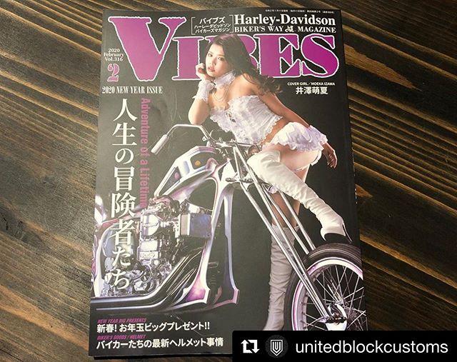 #Repost @unitedblockcustoms with @get_repost・・・#vibesmagazine 2月号に#unitedblockcustoms の商品広告が掲載されています!是非チェックください!Thanks: @__coboo__ #harleydavidson #customparts #customharley #billetparts #ユナイテッドブロックカスタムズ #バイブスマガジン #ハーレーダビッドソン #ハーレー #カスタムパーツ