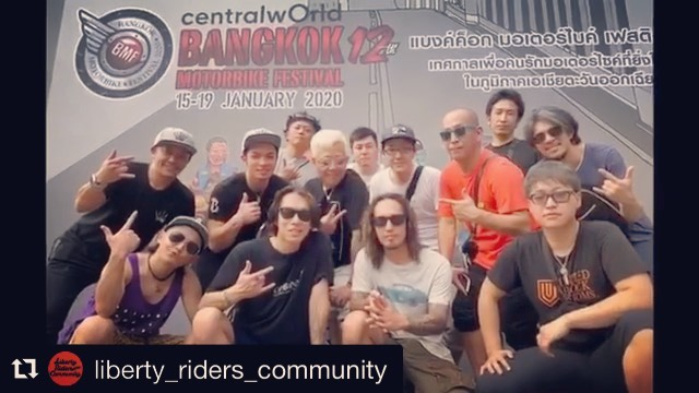 週末土曜日!日本から #bmf2020 盛り上げ隊が来てくれました〜♫🤘🏼#Repost @liberty_riders_community with @get_repost・・・liberty riders!!in bangkok!! #harleydavidson #libertyriders #motorcycle #touring #ハーレーダビッドソン #リバティー #リバティーライダース#ツーリング #カスタムハーレー #ハーレーツーリング  #自由#ハーレー男子 #ハーレー女子#いつものローソン