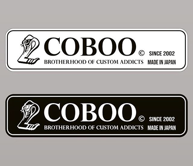 Coboo tag renewal. Thank you for 18 years. And proof of the new stage.#coboo #madeinjapan