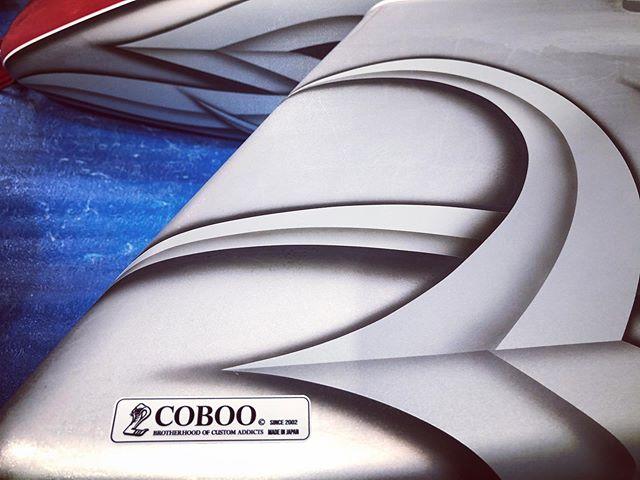 18年ぶりに一新されたCOBOO Tag 第一号♫(ありがとうございます)#coboo #brotherhood #addict #cobootag