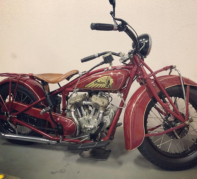 1927 Indian !#indianmotorcycle